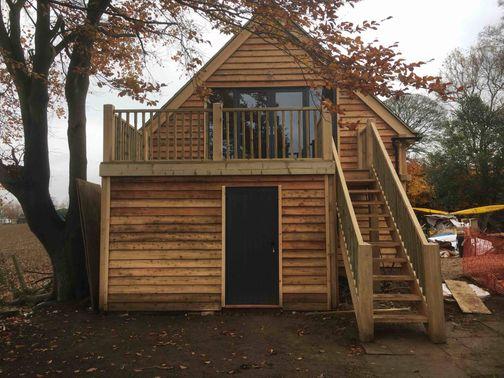 Oak Garden Room Project In Oxfordshire
