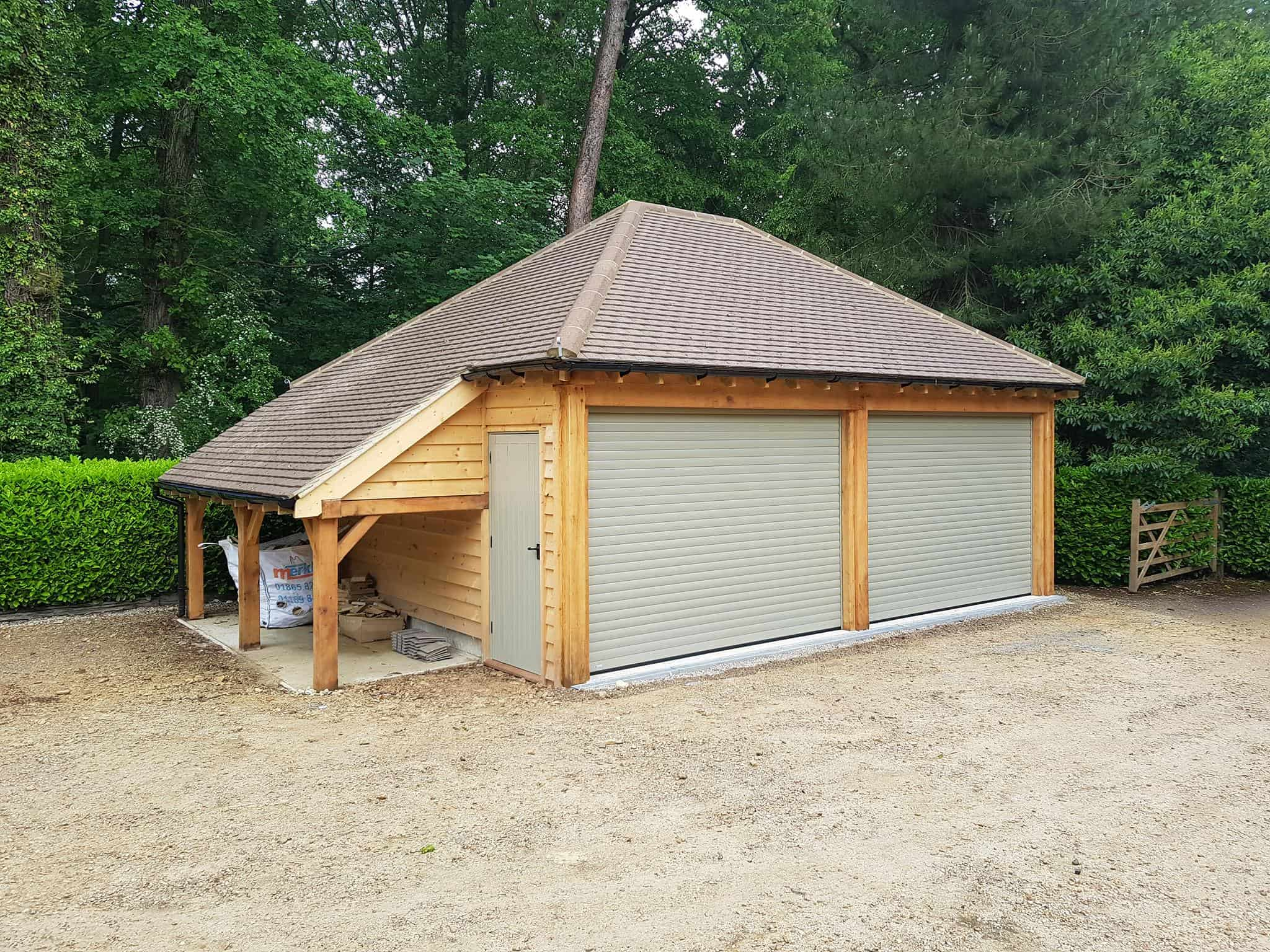 Oak Garage Builder Abingdon