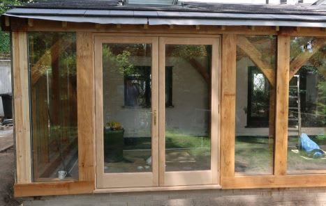 Oak Conservatory Oxfordshire project