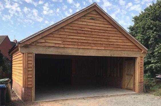 Oak Garage Project In Oxfordshire